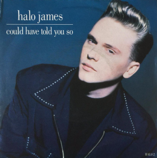 "Halo James ‎- Could Have Told You So (7"") (VG/G-VG)"